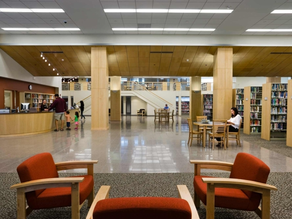 Syosset Public Library Interior