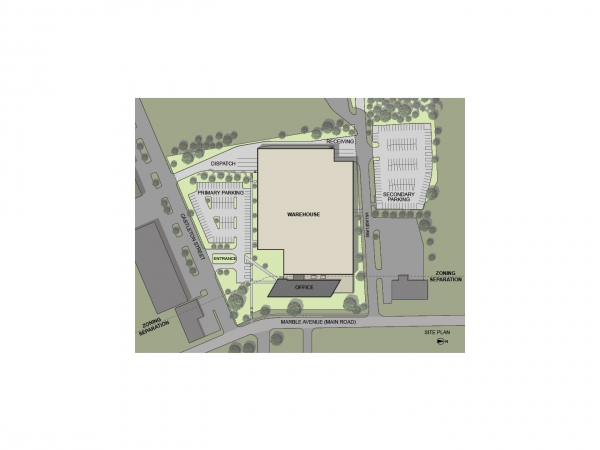 Zwilling J.A. Henckels USA Headquarters site plan